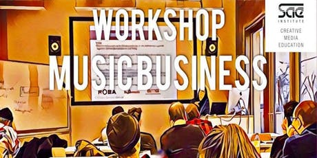 WORKSHOP: Music Business Tickets