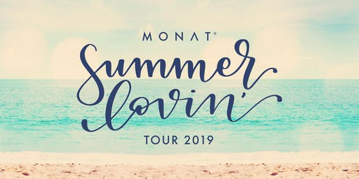 MONAT Summer Lovin' Tour - Salt Lake City, UT