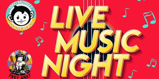Live Music Night at Mad Monkey Hostel Coogee Beach