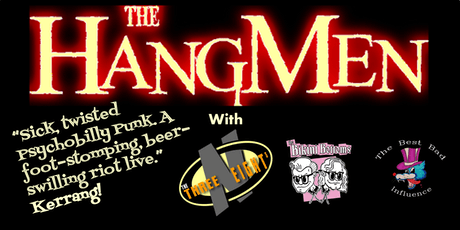 The Hangmen (plus support)- Audio, Glasgow tickets