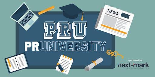PR University - 1/2 Day Seminar