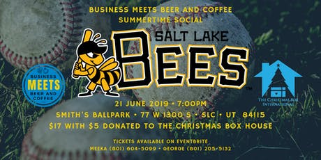 Bees Game with Business Meets Beer tickets