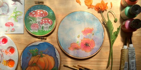 Intro to silk painting - Autumn remembrances tickets