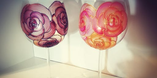 Sustainable Up-Cycling Glass Painting