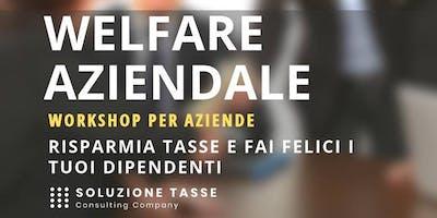 Soluzione Tasse MeetUp - Welfare aziendale, Torino.