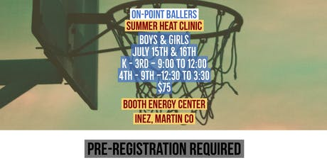 Summer Heat Basketball Clinic tickets