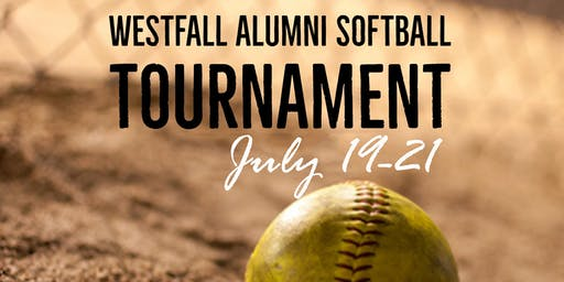 Westfall Education Foundation's 3nd Annual Westfall Alumni Softball Tournament