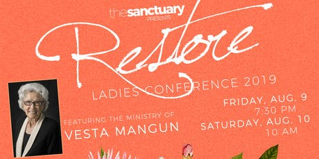 Restore Ladies Conference 2019 tickets