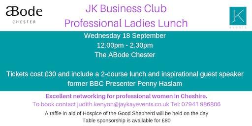 JK Business Club Professional Ladies Lunch