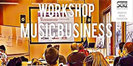 WORKSHOP: Music Business (ENGLISH) Tickets