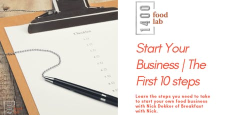 CLASS: Start Your Business: The First 10 Steps tickets