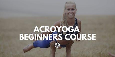 AcroYoga Beginners 4 Week Course, AcroYogaDance Studio tickets
