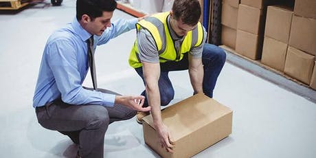 25th September 2019 - Manual Handling Awareness Course tickets