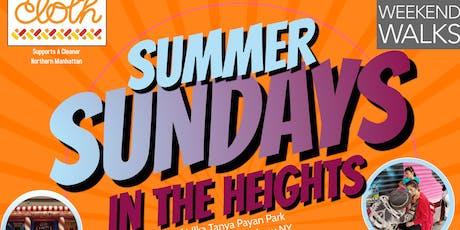 CLOTHs' Summer Sundays tickets
