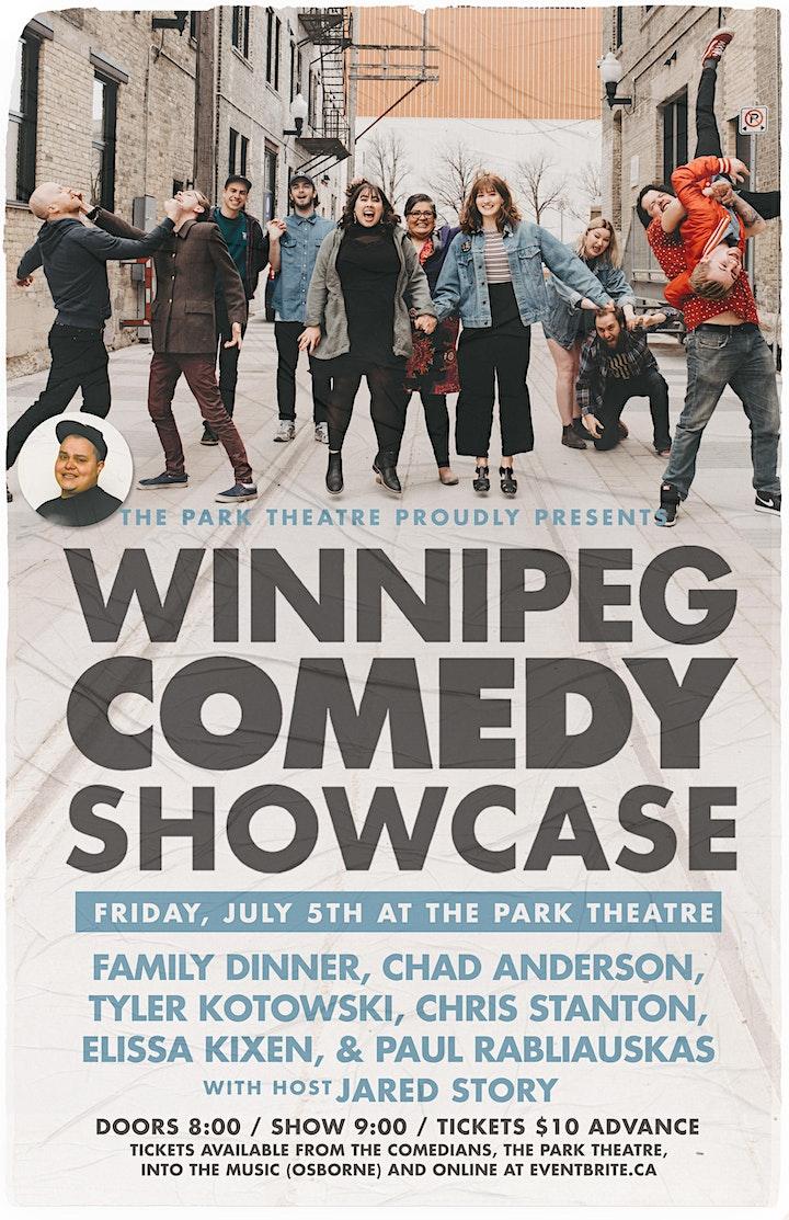 Winnipeg Comedy Showcase - Summer Loving image