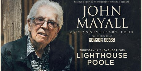 John Mayall - 85th Anniversary Tour (Lighthouse, Poole) tickets