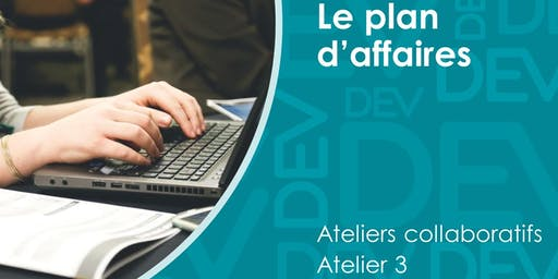 Plan d'affaires - Atelier collaboratif