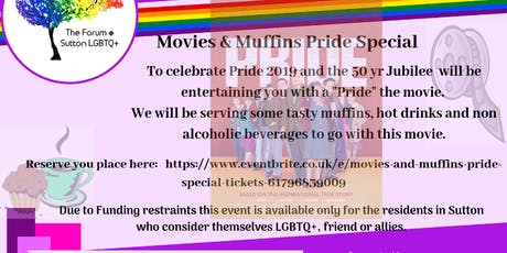 Movies and Muffins PRIDE SPECIAL tickets