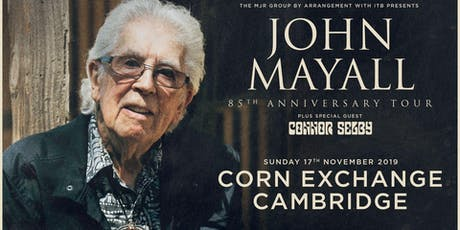 John Mayall - 85th Anniversary Tour (Corn Exchange, Cambridge) tickets