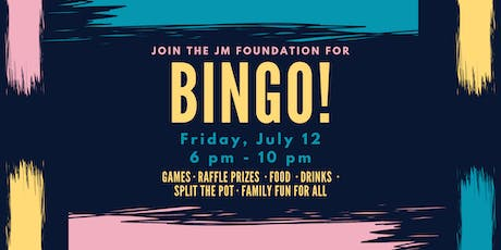 JM FOUNDATION BINGO 2019 tickets