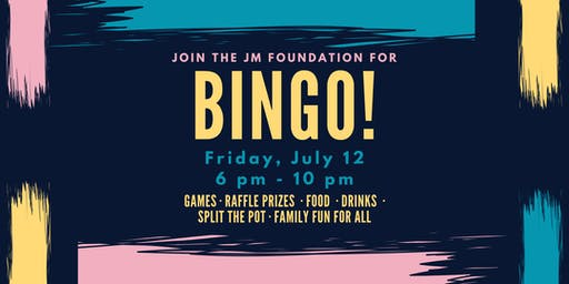 JM FOUNDATION BINGO 2019