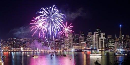 Fourth of July Fireworks Sail aboard the 65ft Derek M. Baylis!
