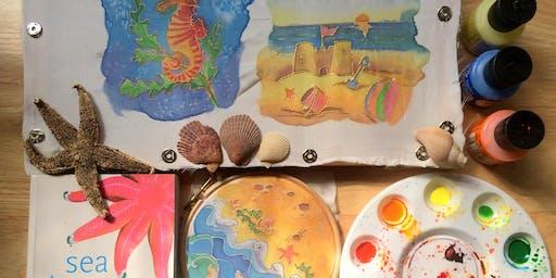 Family Silk Painting with Jess Kemp