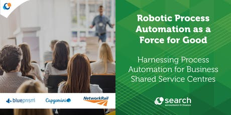 Robotic Process Automation as a Force for Good | Search Consultancy tickets