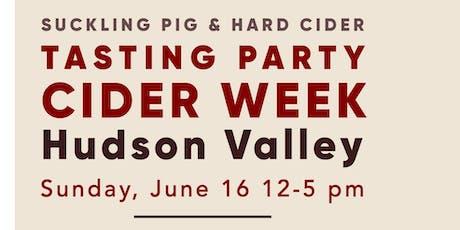 Tasting Party: Hudson Valley Cider Week tickets