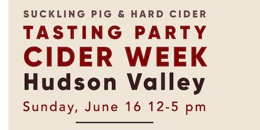 Tasting Party: Hudson Valley Cider Week