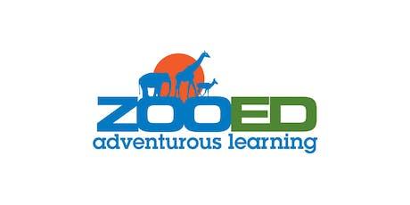 ZooED Teacher Training: Manage the [Animal]  tickets