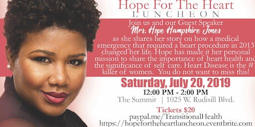 """Hope For The Heart"" Luncheon"