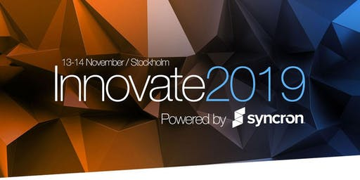 Innovate2019 - Executive Summit for Global Manufacturing Leaders