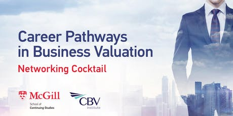 Business Valuation Networking Cocktail tickets