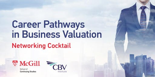 Business Valuation Networking Cocktail