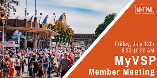 MyVSP: July Member Meeting