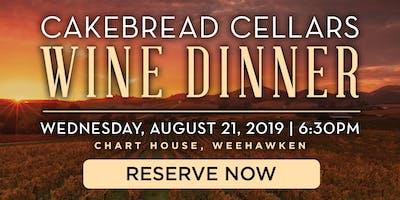 Chart House Cakebread Cellars Wine Dinner- Weehawken, NJ