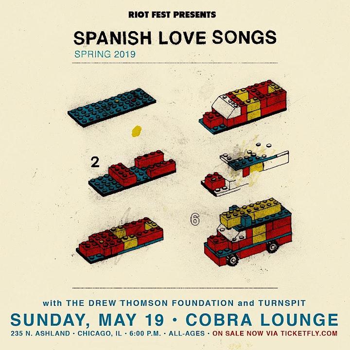 Spanish Love Songs - Tickets At Door image