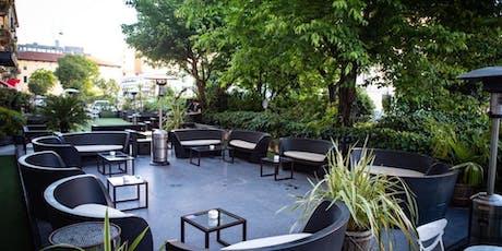 Botinero Milano - Giovedi 18 Luglio 2019 - Cocktail Party nel giardino di Brera con Dj set - Lista Miami - Accrediti e Tavoli al 338-7338905 biglietti