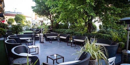 Botinero Milano - Giovedi 20 Giugno 2019 - Cocktail Party nel giardino di Brera con Dj set - Lista Miami - Accrediti e Tavoli al 338-7338905