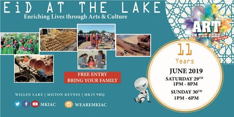 EID AT THE LAKE Festival - Willen Lake, MK - (Sat, 29 - Sun, 30 June 2019) tickets