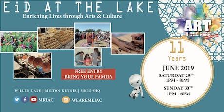 EID AT THE LAKE Festival - Willen Lake, MK - (Sat, 29 - Sun, 30 June 2019) tickets