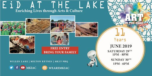 EID AT THE LAKE Festival - Willen Lake, MK - (Sat, 29 - Sun, 30 June 2019)