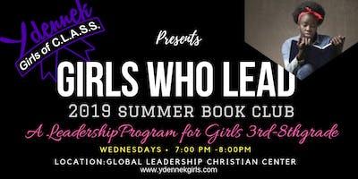 Girls Who Lead Summer Book Club