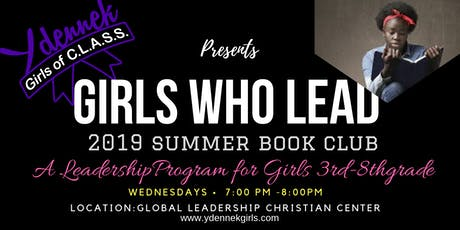 Girls Who Lead Summer Book Club- Session Two tickets