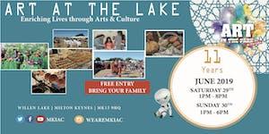 ART AT THE LAKE Festival Willen Lake, MK - (Sat, 29 -...
