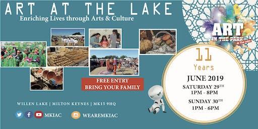 ART AT THE LAKE Festival - Willen Lake, MK - (Sat, 29 - Sun, 30 June 2019)
