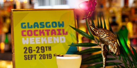 Glasgow Cocktail Weekend All Access + Cocktail World tickets