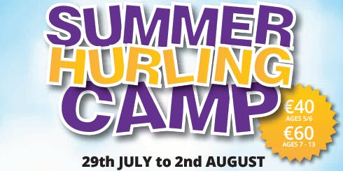 Faythe Harriers Hurling & Camogie Club Summer Camp