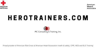 Red Cross CPR / BLS (1/2 online)